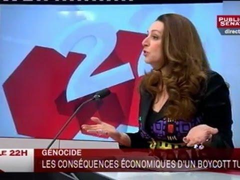 Jean-Pierre Sueur et Valérie Boyer - Le 22H (23/01/2012)
