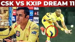 Will Bravo Play Today ?? CSK VS KXIP Full Match Preview And Dream 11 Predictions | Match 18 IPL 2019