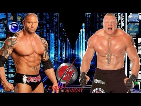 Batista vs Brock Lesnar Iron Man Match