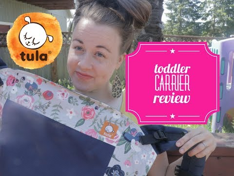 Tula Toddler Carrier : Review and on the body