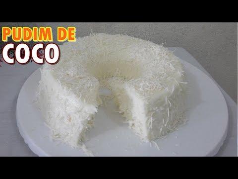 PUDIM DE COCO Mas FÁCIL é IMPOSSÍVEL