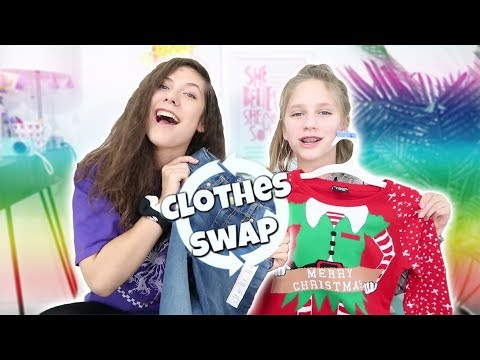Sister Clothes Swap Challenge: Ugly Christmas Sweater Edition! Shopping at Target