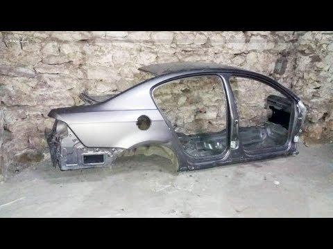 пол пассата н-н-нада ? сложный кузовной ремонт бокового удара на Volkswagen Passat.