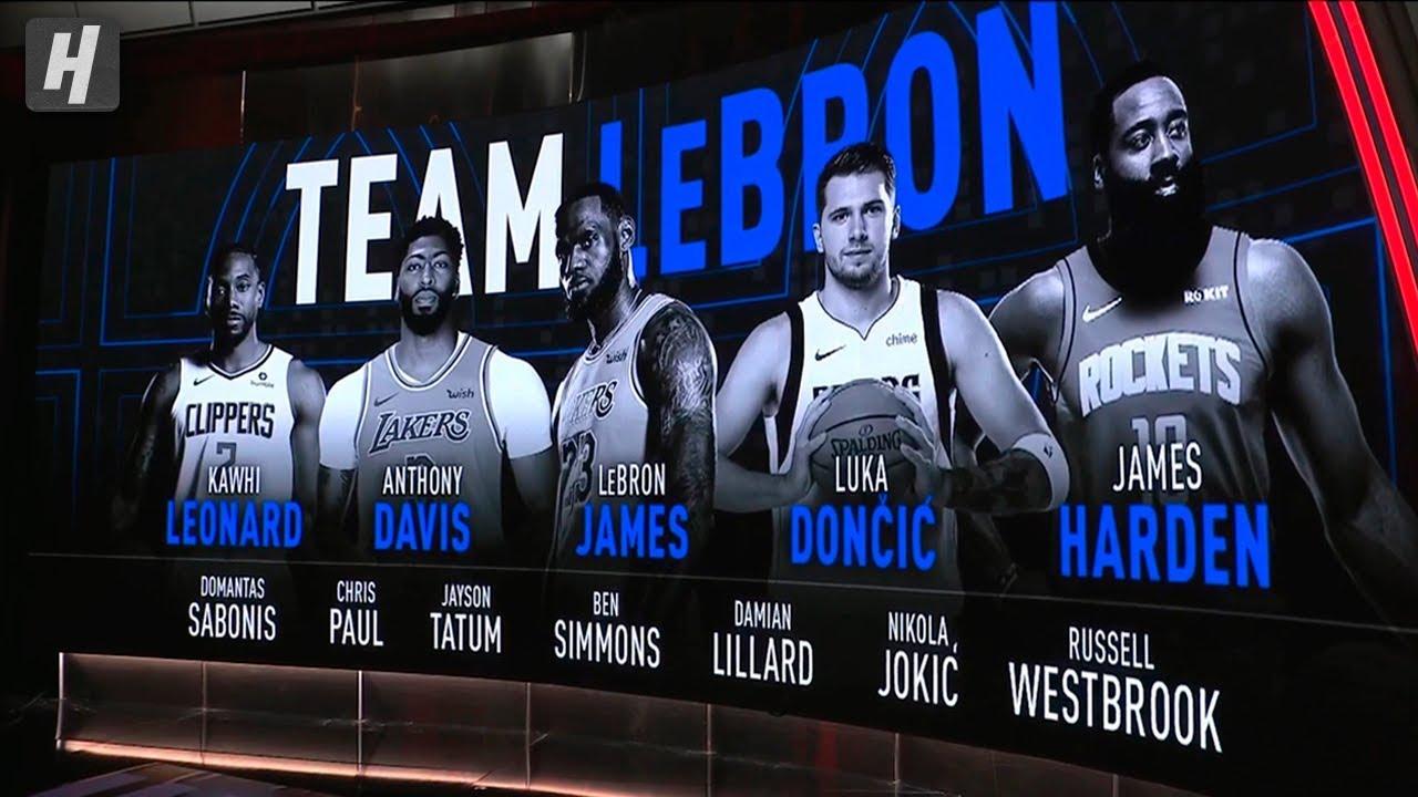 Nba All Star Draft Roster Breakdown Team Lebron Vs Team