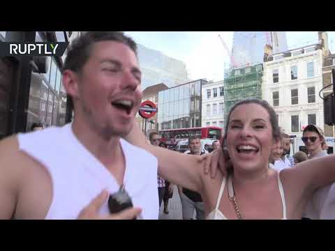 'It's coming home!' London goes mad after Three Lions' victory over Sweden in QF