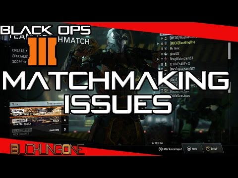 black ops 3 matchmaking issues 2017