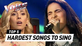 Download HARDEST SONGS to sing in The Voice (Kids) Mp3 and Videos