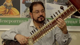 Video Pandit Kushal Das. Sitar Master Class. Saint Petersburg. 4K UHD. download MP3, 3GP, MP4, WEBM, AVI, FLV November 2018