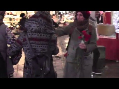 Sokağa Çıkma Yasaklarına Karşı Çiçek Eylemi - TODAP