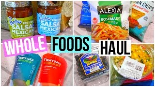 WHOLE FOODS GROCERY HAUL 2016!