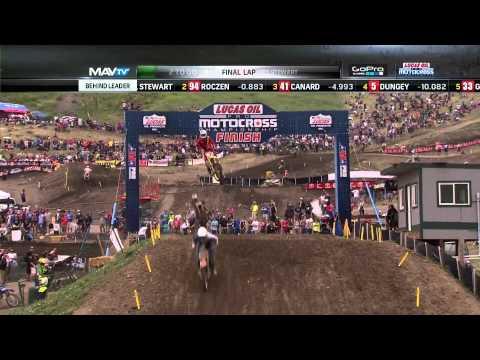 Thunder Valley 450 Moto 1: Stewart vs. Roczen, Final 2 Laps