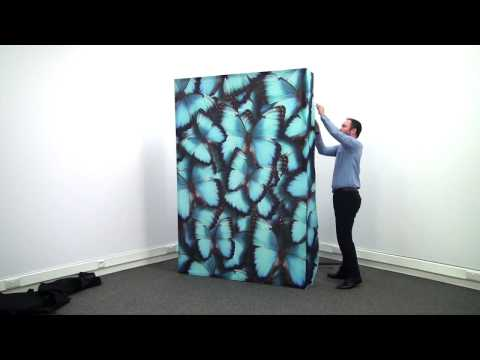Embrace Fabric Display