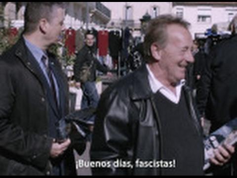 """""""Fascistas de mierda"""", así reciben a los partidarios de Marine Le Pen en un mercado - Salvados"""