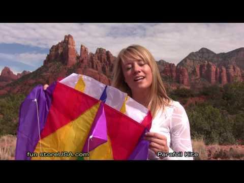 Parafoil intro by Katie funstoreUSA com Sedona, AZ