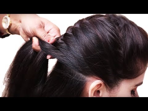 How to do French Braid Hairstyle tutorial 2018 || Easy Hairstyle for Long Hair 2018