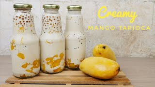 How to make Mango Tapioca | Creamy Mango Tapioca (business idea)