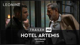 HOTEL ARTEMIS | Red Band Trailer | HD | Offiziell | Kinostart: 26. Juli 2018