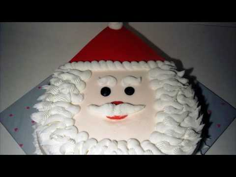 Easy Christmas Cake Decorations