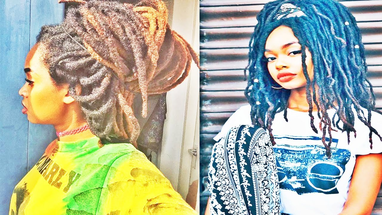 Latest Dreadlocks Hairstyles For African & American Womens