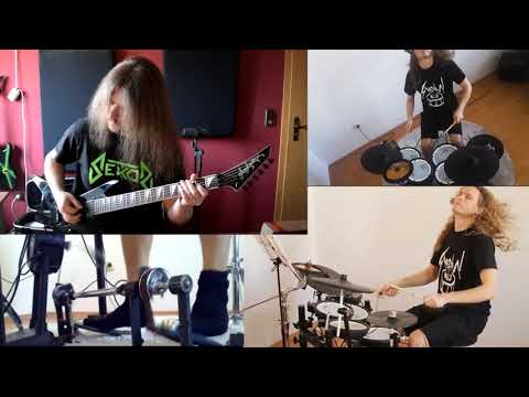 KATAKLYSM - Guillotine (COLLABORATION COVER) | Guitar and Drums