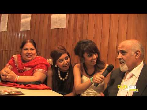 Mum And Dad Grewal interview by the Billan sisters Backstage@ the 2010 UK AMAs