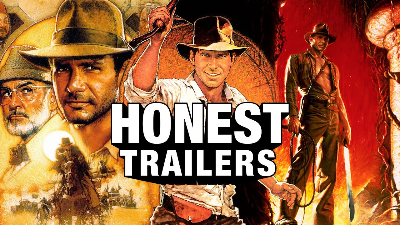 Honest Trailers | Indiana Jones Trilogy