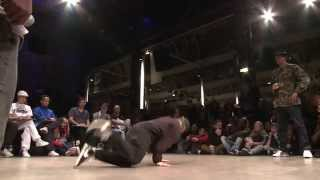 1/4 finale 1vs1 Bgirl : RAWGINA (GBR) vs JILOU (GER)