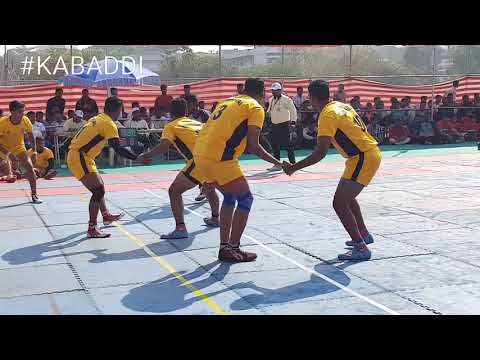 Savitribai Phule Pune University vs mumbai university kabaddi match 2019..