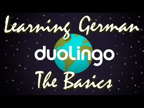 LET'S LEARN GERMAN WITH DUOLINGO - A PERFECT BRAIN WORKOUT TO LEARNING A NEW LANGUAGE!
