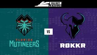 @Florida Mutineers vs @Minnesota RØKKR   | Stage V Week 3 — Seattle Home Series | Day 3