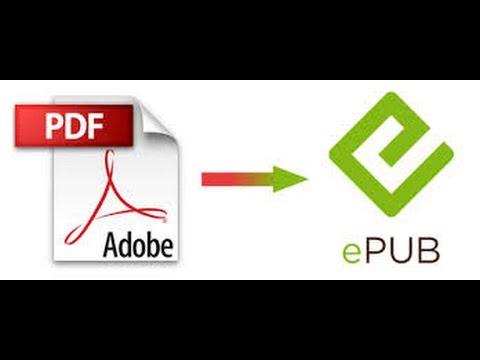 Como converter um PDF para EPUB