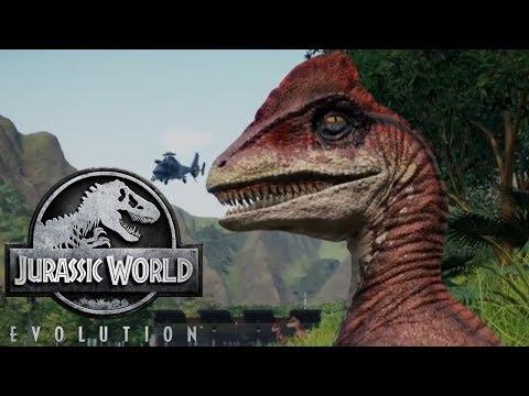 New Footage For Jurassic World Evolution Shows Deinonychus and Ceratosaurus! - Jurassic World Game