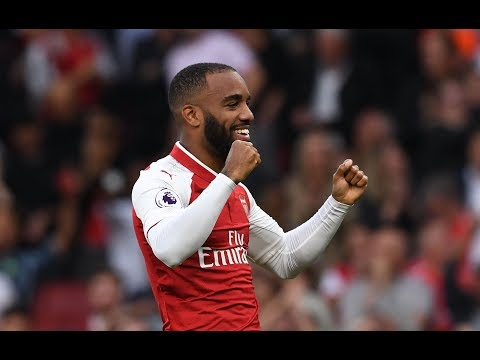 FIRST SHOT, FIRST GOAL... | Alexandre Lacazette's Arsenal debut