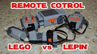 Remote Control - LEGO vs LEPIN