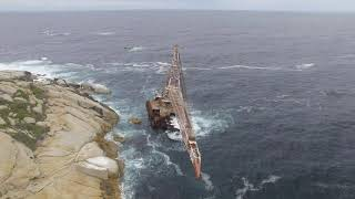 Bos 400 Shipwreck - Cape Town, South Africa