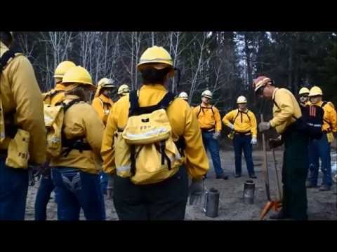 Wildland Firefighting at Itasca Community College