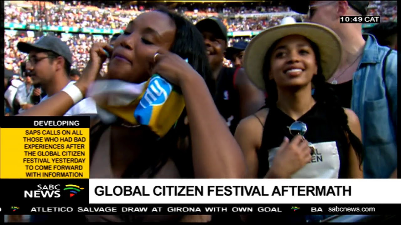 2018 Global Citizen Festival aftermath