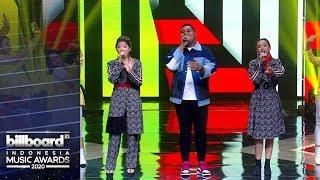 BILLBOARD INDONESIA MUSIC AWARDS 2020 - Andmesh Kamaleng X Lyodra Idol X Tiara Idol