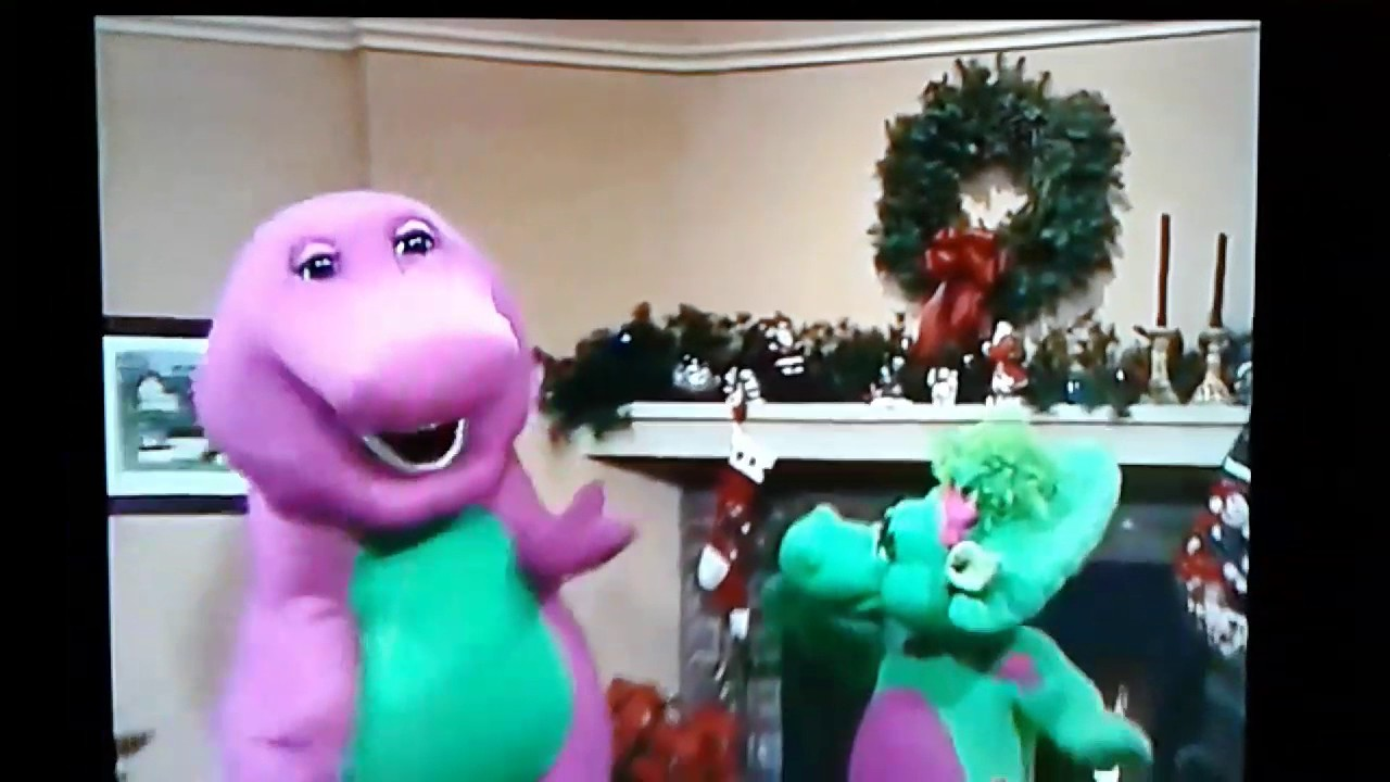 My Favorite scene from Barney\'s Night Before Christmas Play Along ...
