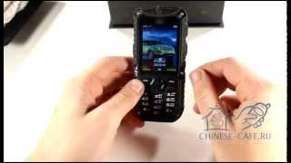 Видеообзор противоударного водонепроницаемого телефона LandRover XP5300 IP67