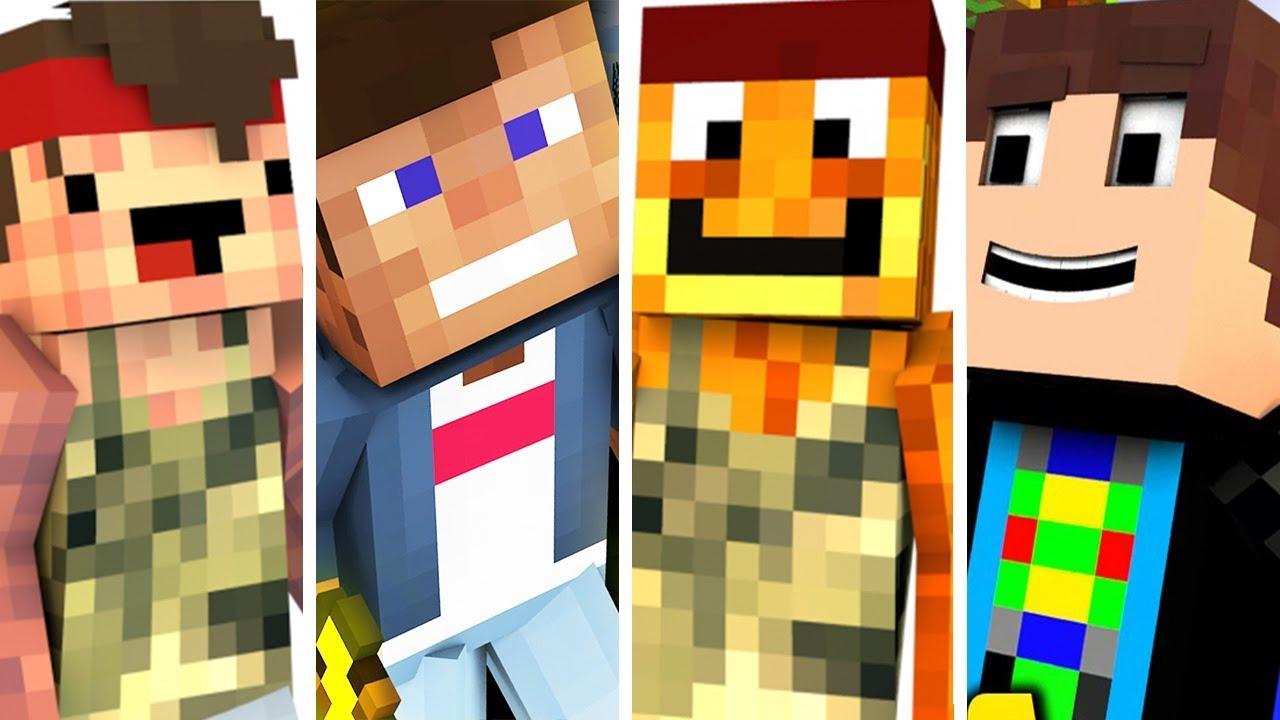 Youtuber Skins