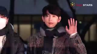 갓세븐(GOT7) @ 181207 KBS 뮤직뱅크 출근길