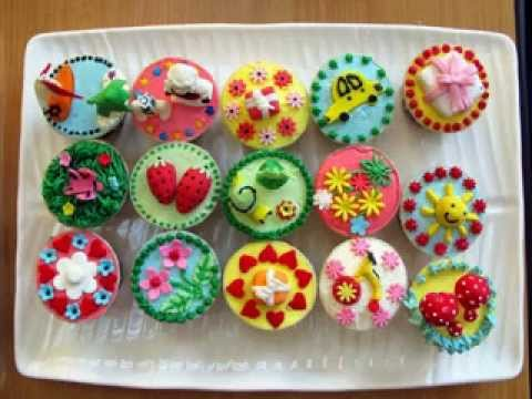 Easy diy easter cupcake decorations ideas youtube Cupcake decorating ideas
