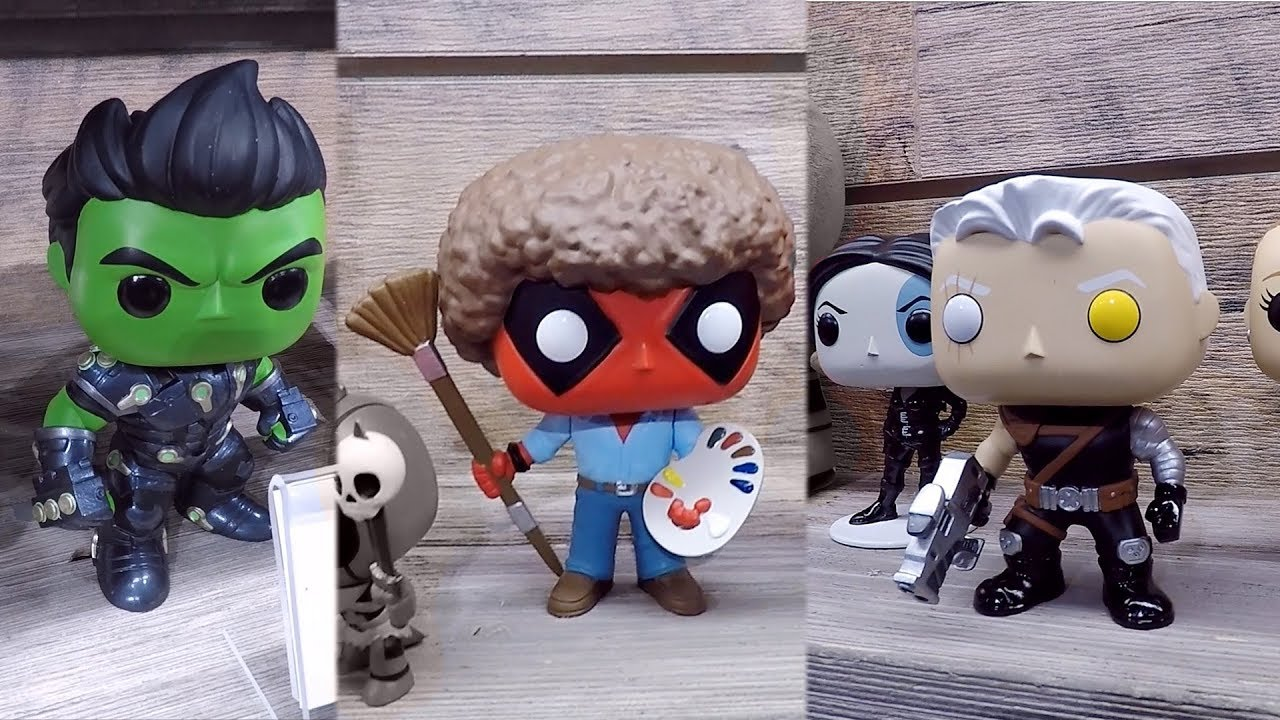 Deadpool 2 And Marvel Comics Funko Pop Vinyl Figures At