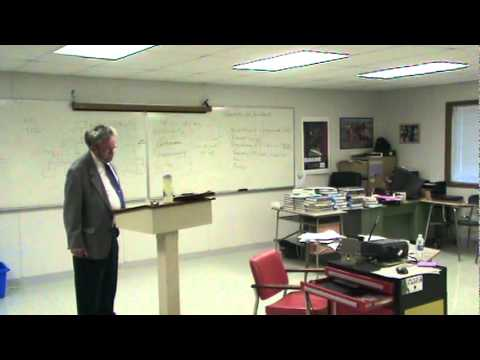 Prof. Wasby's Lecture on the Federal Courts Part 1