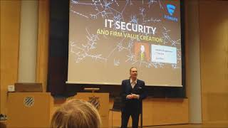IT Security and Firm Value Creation - Mikko Hyppönen