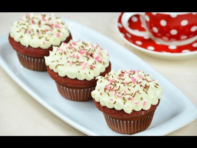 Red velvet cupcakes   JamilaCuisine