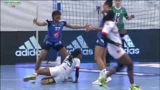 France VS Cuba Handball feminin match de préparation
