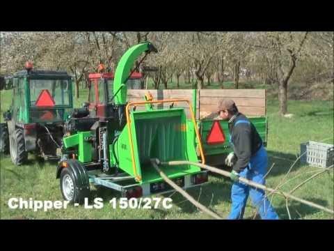 Садовый измельчитель LASKI LS 150/27C