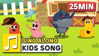 Itsy Bitsy Spider | kids karaoke | COMPILATION  | Nursery Rhymes | LARVA KIDS Songs for Children
